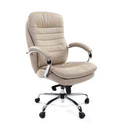 Кресло руководителя Chairman 795 кожа белый