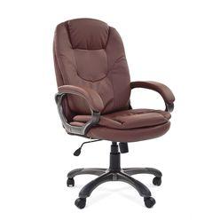 Кресло руководителя Chairman 668 экопремиум коричневый