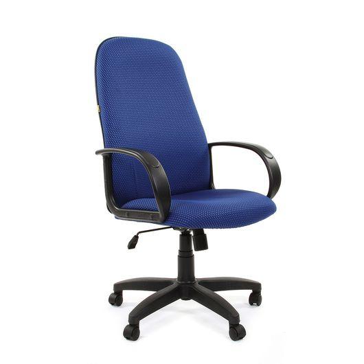Кресло руководителя Chairman 279 ткань JP15-3 голубой