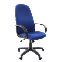 Кресло руководителя Chairman 279 ткань TW-10 синий