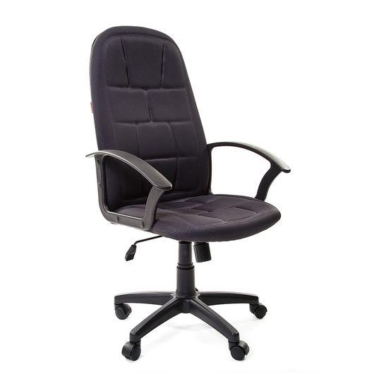 Кресло руководителя Chairman 737 ткань TW-12 серый