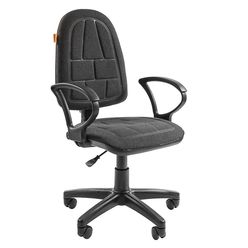 Кресло оператора Chairman Prestige ergo ткань C-2 серый