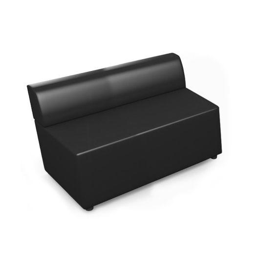 Двухместный модуль Chairman ОПТИМА экотекс 3001 черный
