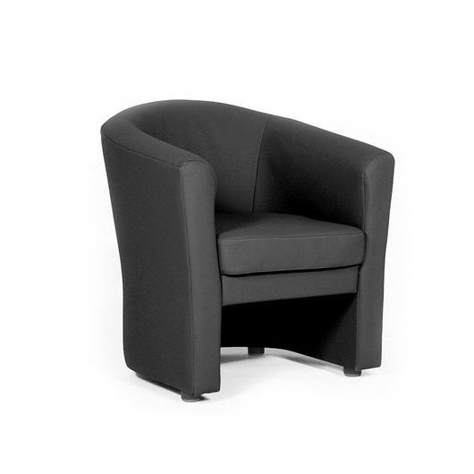 Кресло для отдыха Chairman КРОН Euroline черный