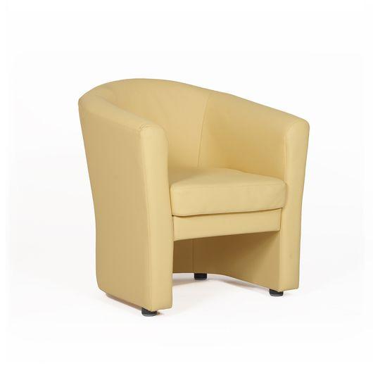 Кресло для отдыха Chairman КРОН Euroline светло-бежевый