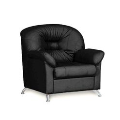 Кресло для отдыха Chairman ПАРМ Euroline черный