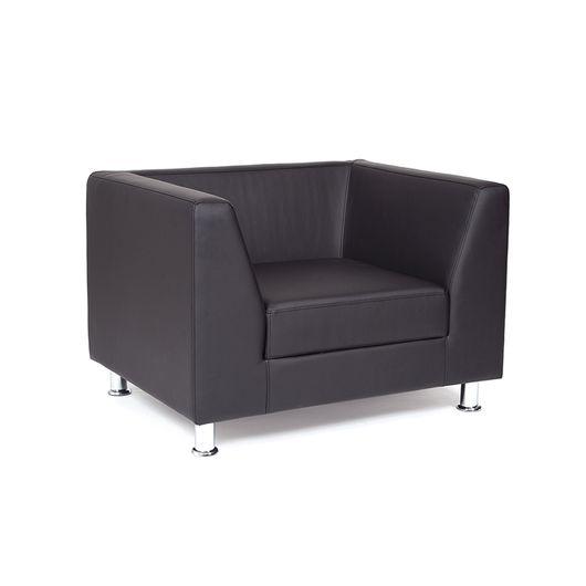 Кресло для отдыха Chairman ДЭРБИ экотекс 3001 черный