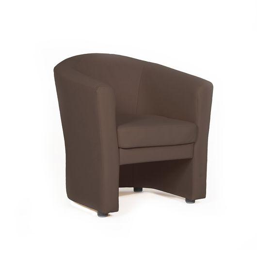 Кресло для отдыха Chairman КРОН Euroline шоколад