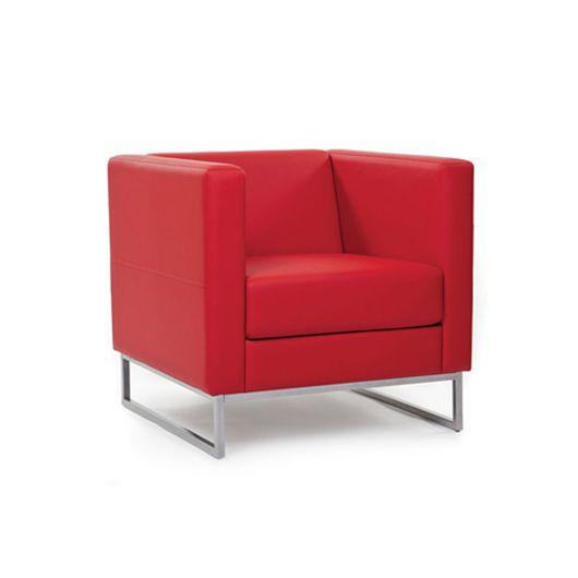Кресло для отдыха Chairman ДЮНА Euroline вишневый