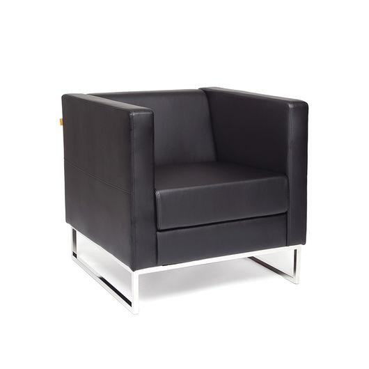 Кресло для отдыха Chairman ДЮНА экотекс 3001 черный