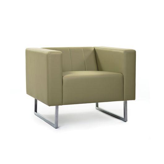 Кресло для отдыха Chairman ВЕНТА Euroline светло-зеленый