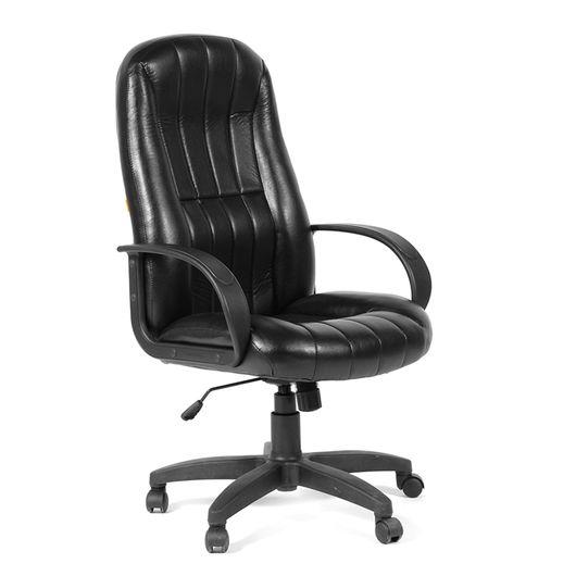 Кресло руководителя CHAIRMAN 685 КЗ экокожа черная