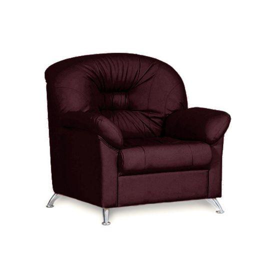 Кресло для отдыха Chairman ПАРМ Euroline бордо
