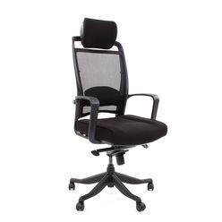Кресло руководителя Chairman 283 сетка/ткань черный