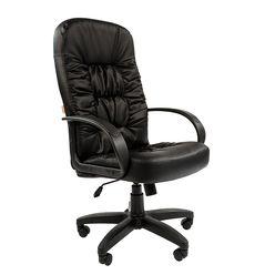 Кресло руководителя Chairman 416 экокожа черный