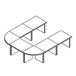 Конференц-стол Skyland BORN 305 дуб девон