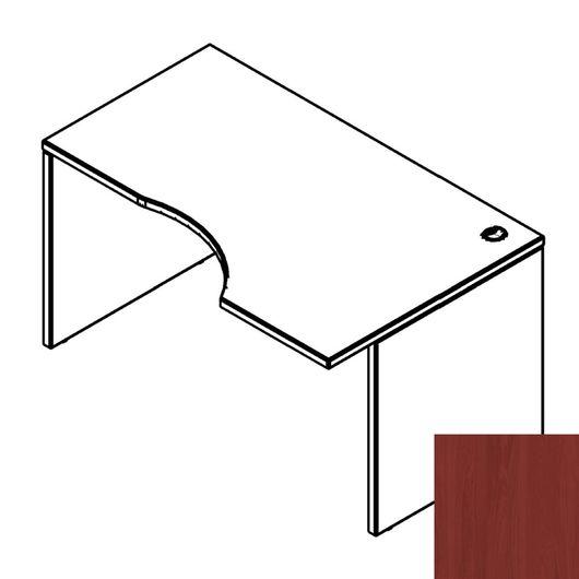 Стол письменный Skyland DEX XCET 149 R вишня мемфис