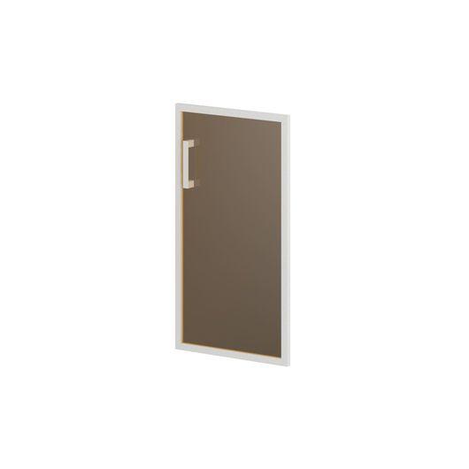 Дверь стеклянная матовоая Skyland BORN В512Пр матовый прозрачный