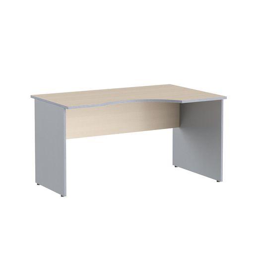 Стол криволинейный Skyland IMAGO СА-2 Пр клен/металлик