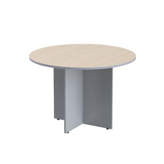 Стол круглый Skyland IMAGO ПРГ-1 клен/металлик