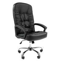 Кресло руководителя Chairman 418 кожа черный