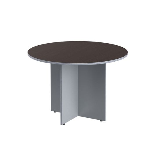 Стол круглый Skyland IMAGO ПРГ-1 венге/металлик