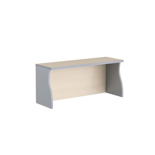 Надставка на стол Skyland IMAGO НС-1 клен/металлик