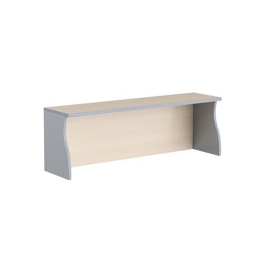 Надставка на стол Skyland IMAGO НС-2 клен/металлик