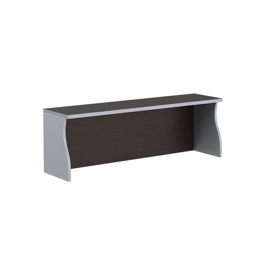 Надставка на стол Skyland IMAGO НС-2 венге/металлик