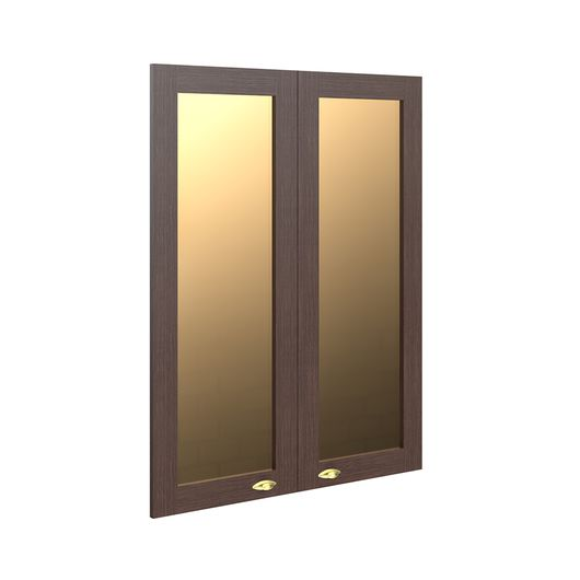 Стеклянная рамочная дверь Skyland RAUT RGFD 42-2 венге магия