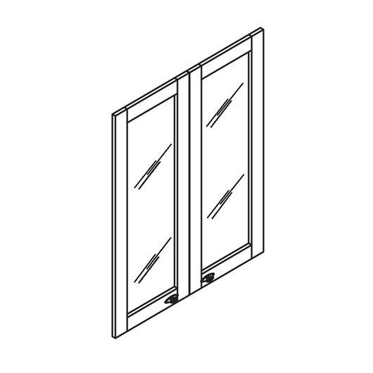 Стекло для рамочной двери Skyland RAUT RGD 42-2 бронза тонированное