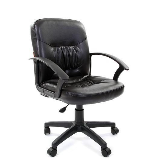 Кресло оператора Chairman 651 Eco экокожа черный