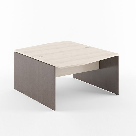 Стол двойной Skyland XTEN X2CT 149.2 береза норд/рено