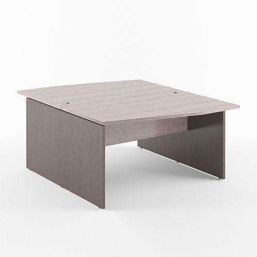 Стол двойной Skyland XTEN X2CT 169.1 дуб сонома/рено