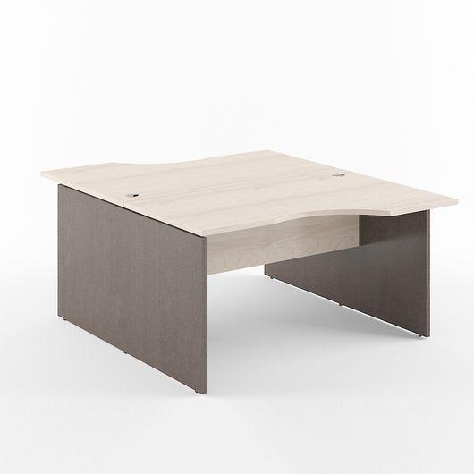 Стол двойной Skyland XTEN X2CET 169.1 береза норд/рено