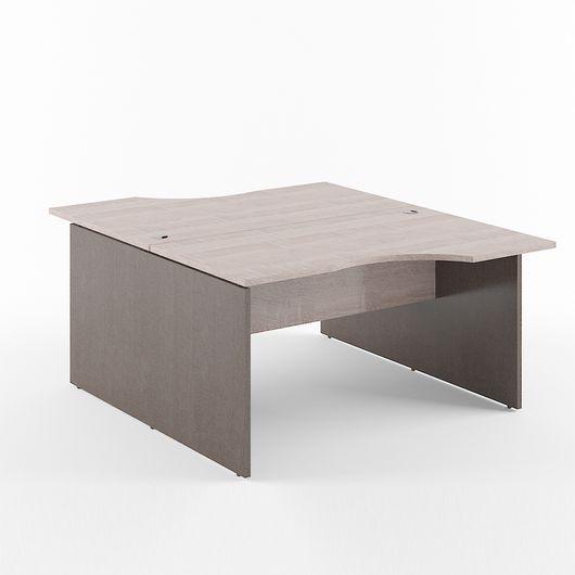 Стол двойной Skyland XTEN X2CET 149.1 дуб сонома/рено