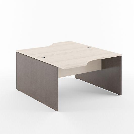 Стол двойной Skyland XTEN X2CET 149.2 береза норд/рено