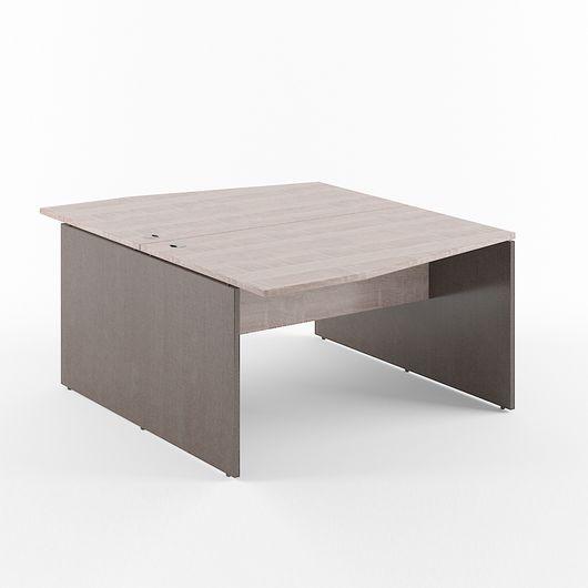 Стол двойной Skyland XTEN X2CT 149.3 дуб сонома/рено