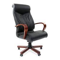 Кресло руководителя Chairman 420 WD кожа черный
