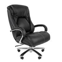 Кресло руководителя Chairman 402 кожа черный