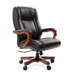 Кресло руководителя Chairman 403 кожа черный