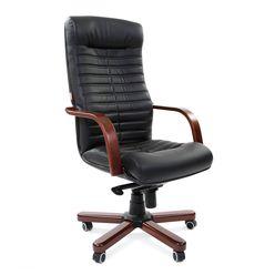 Кресло руководителя Chairman 480 WD экопремиум черный