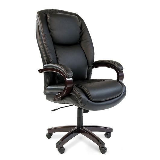Кресло руководителя Chairman 408 кожа черный