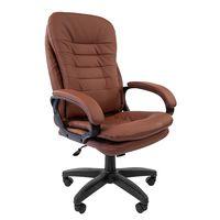 Кресло руководителя Chairman 795 LT экокожа коричневый