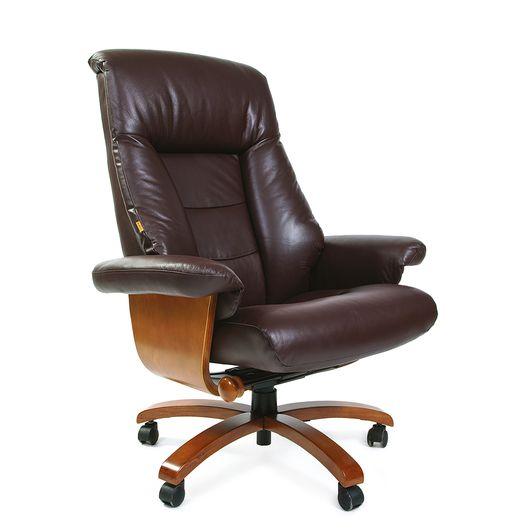 Кресло руководителя Chairman 400 кожа коричневый