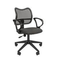 Кресло оператора Chairman 450 LT сетка/ткань черный/серый