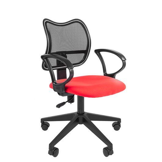 Кресло оператора Chairman 450 LT сетка/ткань черный/красный