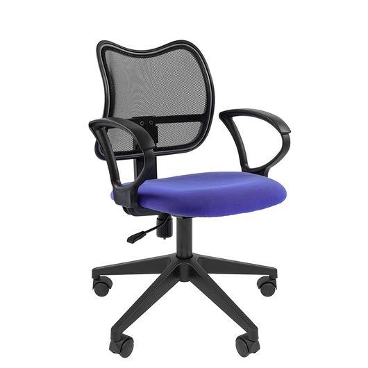 Кресло оператора Chairman 450 LT сетка/ткань черный/синий