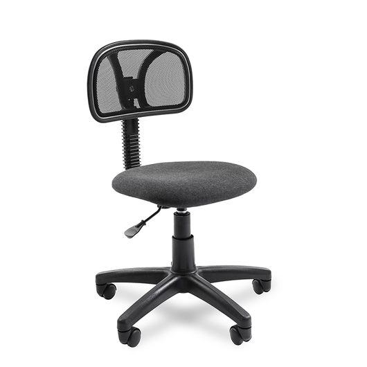 Кресло оператора Chairman 250 сетка/ткань черный/серый
