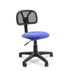 Кресло оператора CHAIRMAN 250 сетка черная/ткань синяя
